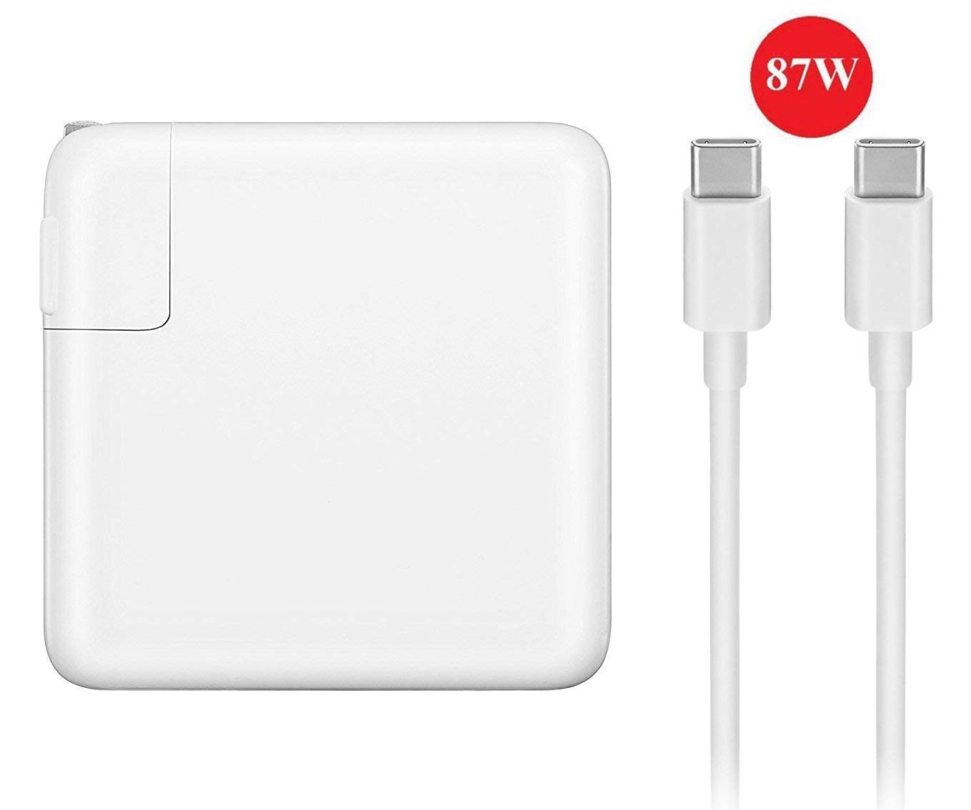 Ewayfa USB-C 87W Power Adapter Charger, with USB-C to USB-C Charger Cable(2M).