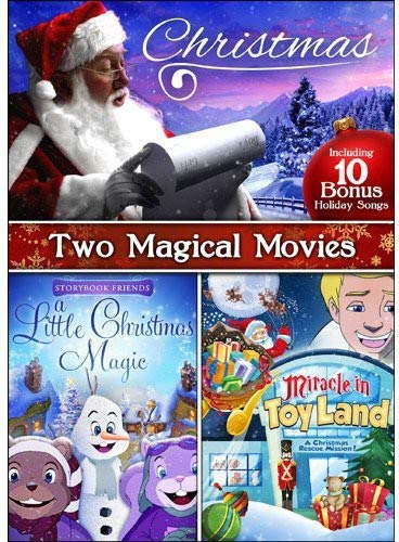 Christmas Magical Movies: Miracle in Toyland / Storybook Friends: A Little Christmas Magic / Bonus Family Holiday Favorites MP3 s