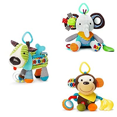 Skip Hop Bandana Buddies Toy Set : Baby