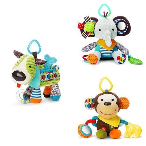 Skip Hop Bandana Buddies Toy Set (Dark Center Bandana)