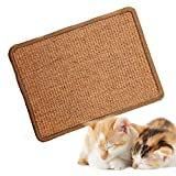 asocea natural sisal cat scratching mat scratching post protection play scratcher pad for cats kitty