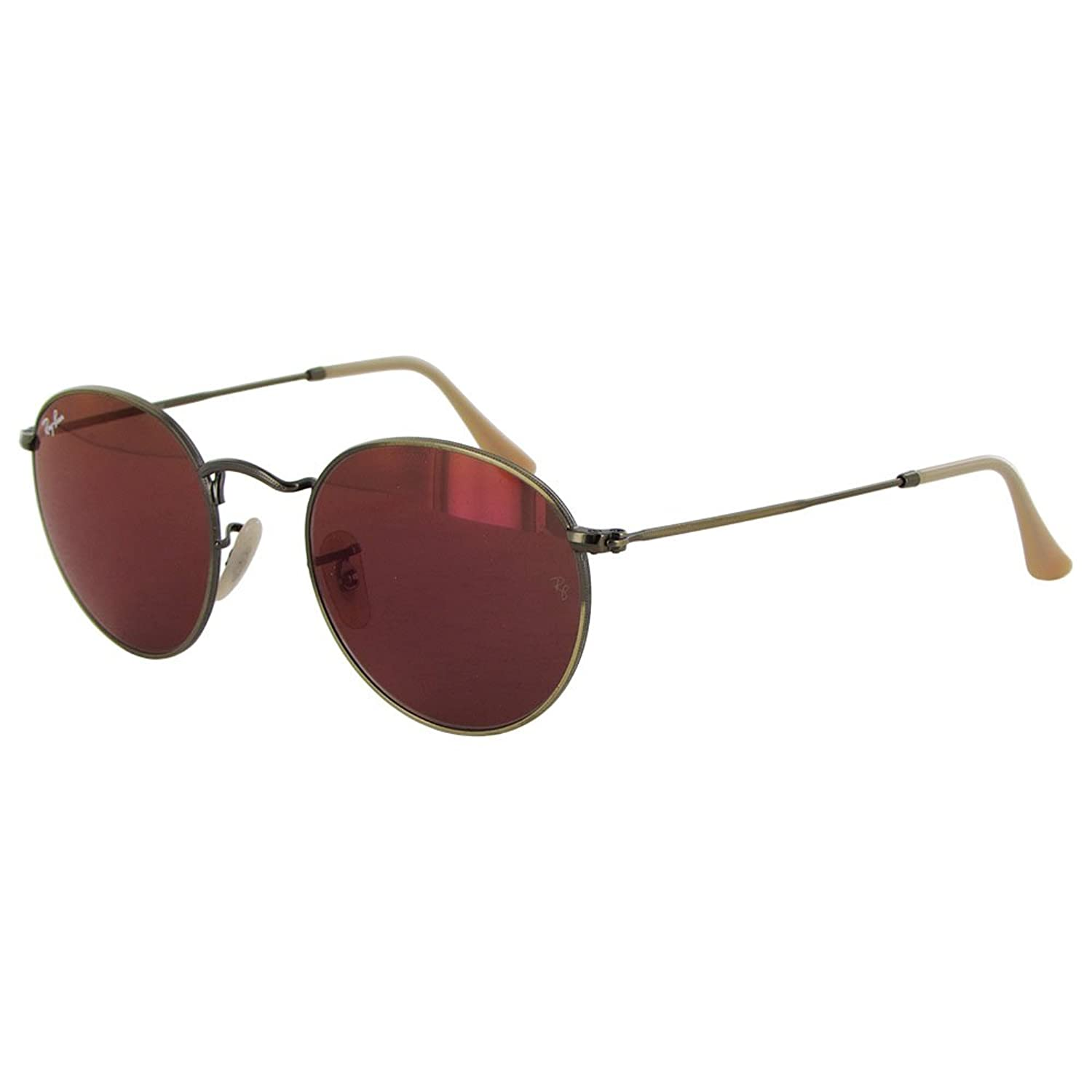 ray ban classic metal round sunglasses  ray ban men's orb3447 polarized round sunglasses
