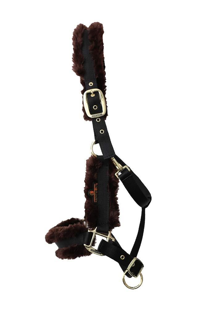 ultimi stili Kentucky - Cavezza in Pelliccia di di di Agnello di Nylon, colore  Nero  risparmia fino al 50%