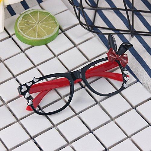 ad54c10ae3 30% de descuento Chicas Bunny Gafas Gafas Gafas Lentes Geek / Nerd Gafas con  Estuche