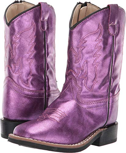 Old West Kids Boots Baby Girl's Gina (Toddler)