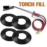 Torch Fill - Propane Torch and 120 LFT. Asphalt Concrete Crack Filler