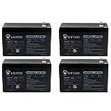 12V 9Ah SLA Battery for Speedway 52036 7 in 1 Power - 4 Pack