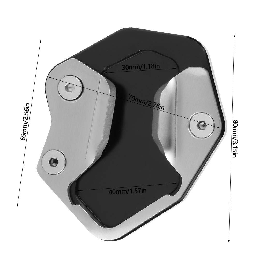 Soporte Lateral Motocicleta Soporte Placa Soporte Amplificador Soporte Amplificador CNC Aluminio Soporte Motocicleta Soporte Soporte Placa Apoyo Lateral para Triumph Tiger 800 2013-2018