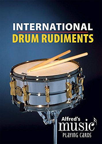 Alfred's Music Playing Cards -- International Drum Rudiments: 1 Pack, Card Deck