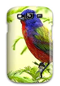 High Quality Colorful Bird Case For Galaxy S3 / Perfect Case wangjiang maoyi