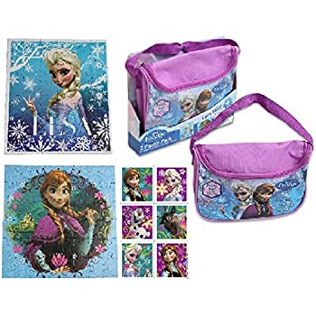 Amazon Com Disney Frozen Carry And Go 2 Fashion Puzzle