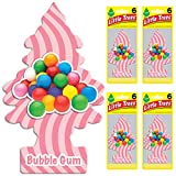 Little Trees U6P-60348-AMA Bubble Gum Air Freshener