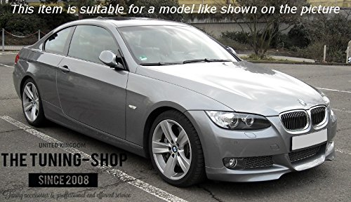 The Tuning-Shop Ltd for BMW 3 Series E90 E91 E92 E93 2005-13 Shift Boot Black Suede M3 ////// Stitching