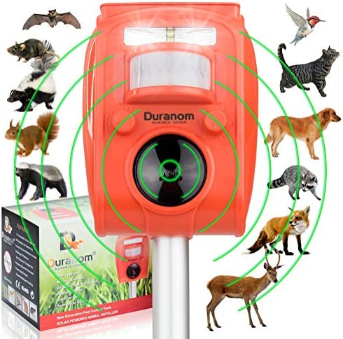 DURANOM Ultrasonic Activated Repellent Deterrent product image