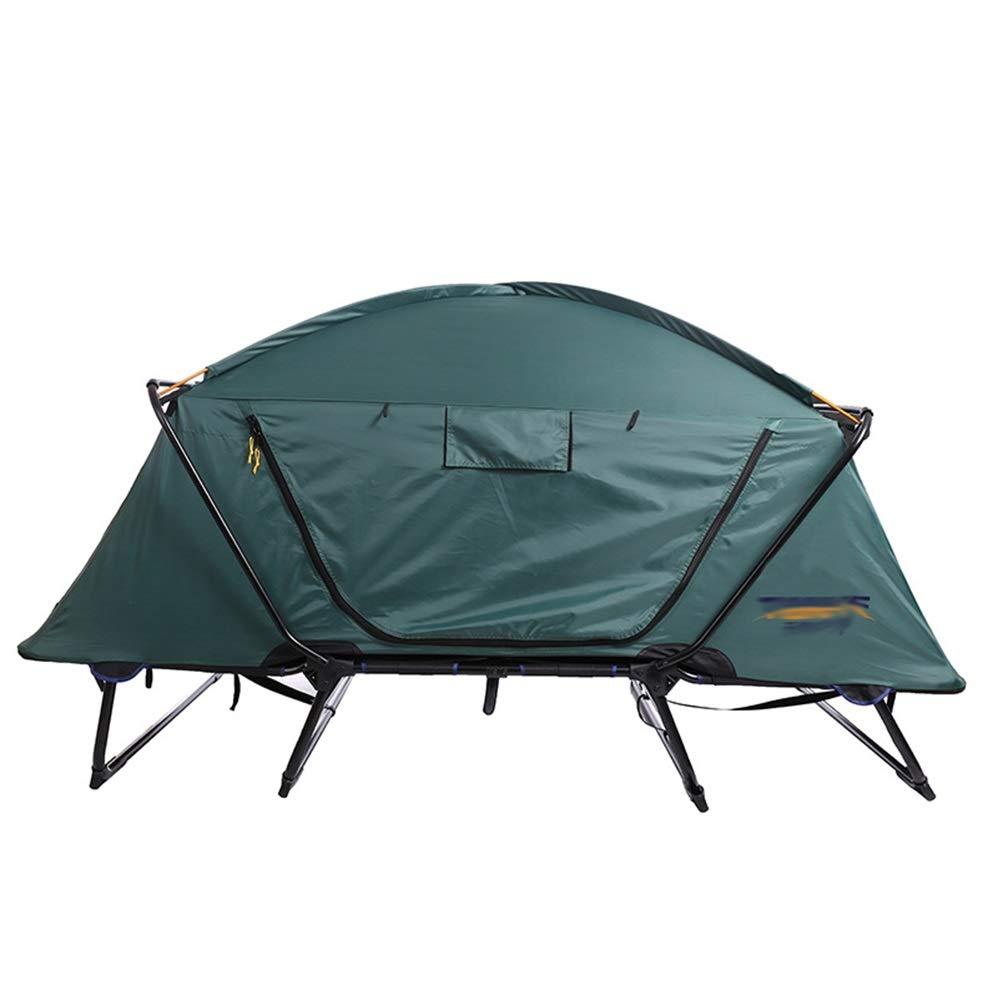 Pêche Polyvalente sans Tente construite dans Une Tente Hors-Sol DARK vert 21477120CM