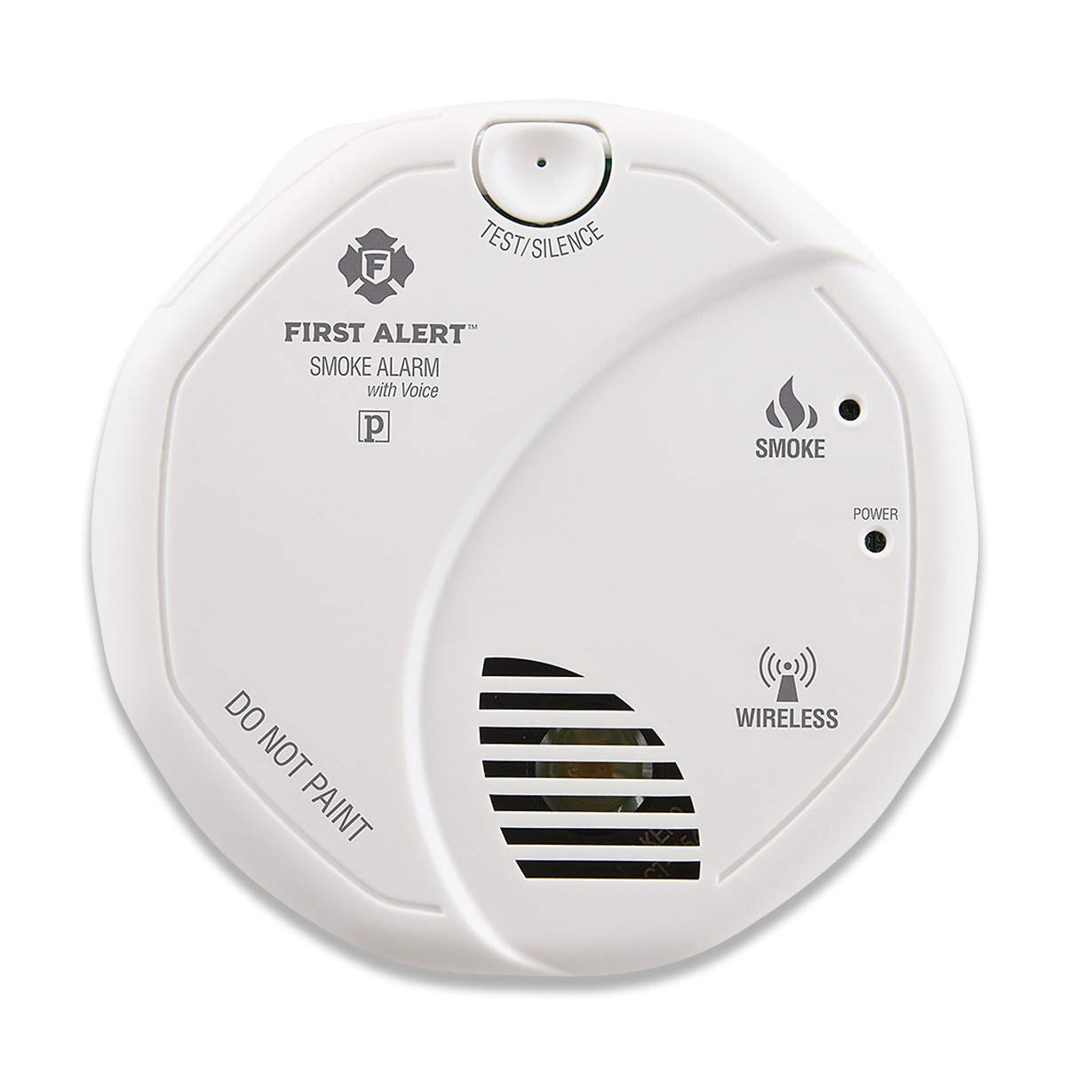 First Alert Smoke Detector Alarm | Battery Powered with Wireless Interconnect | 2-Pack, SA511CN2-3ST by First Alert