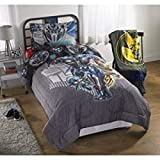 Transformers last knight autobot strong full bedding bundle set: Comforter and Full sheets set