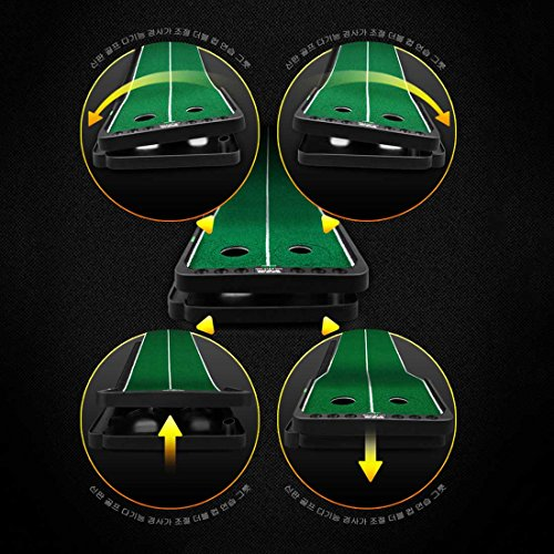 Novelty Golf Putting Trainer Indoor Golf Putting Green System----Auto Return,Extra Wide than Others,20inch Width by PGM (Image #7)