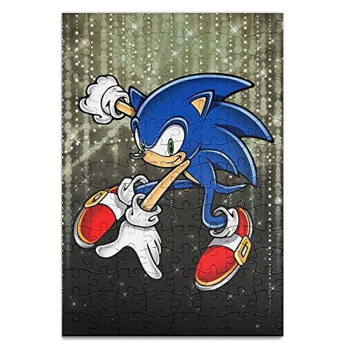 [Beauty Sonic The Hedgehog Personalized Picture Print 120 Piece Jigsaw Puzzle] (Party City Indian Costume)