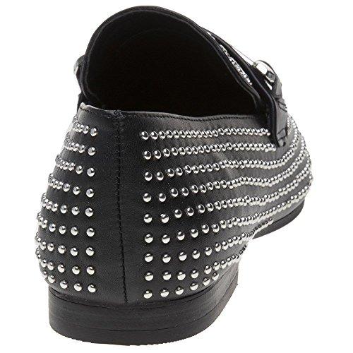 Steve Madden Donne Fannullone Kast Pantofola Nero