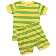 Leveret Shorts Boys 2 Piece Pajama Top & Pants 100% Cotton (Size 2 Toddler-10 Years)