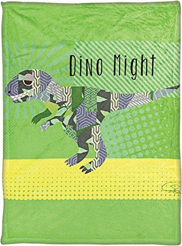 Manual Pop Art T-Rex By Claudia Schoen Dye Print Plush Baby