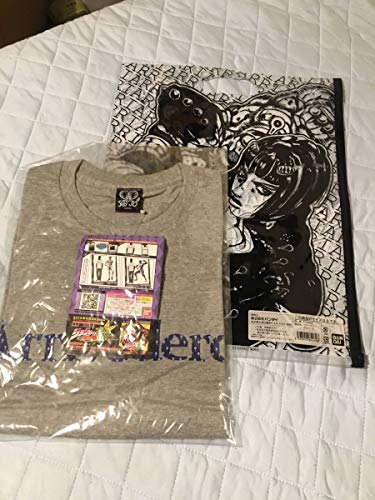 JOJO ジョジョの奇妙な冒険 ブチャラティ tシャツ グレー Mサイズ バンダイ arrivederci 第5部