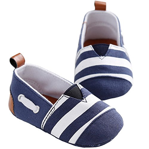 White Stripe Infant Shoe - 1