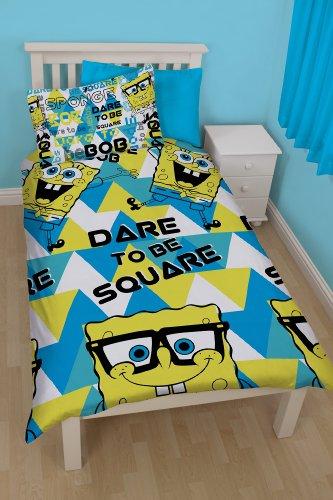 Spongebob Spongebob Happy Single Rotary Duvet Set