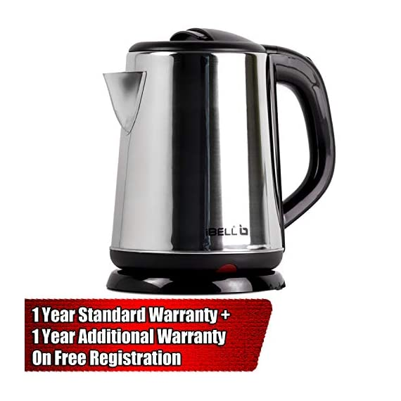 iBELL 1500 W Stainless Steel High Polished Electric Kettle 2