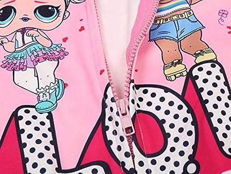 Socluer Camisetas Impresión Dolls Cartoon Game Tops GirlS Maglieria Sportiva Sudadera con Capucha Bolsillo con Cierre para Niñas: Amazon.es: Ropa y ...