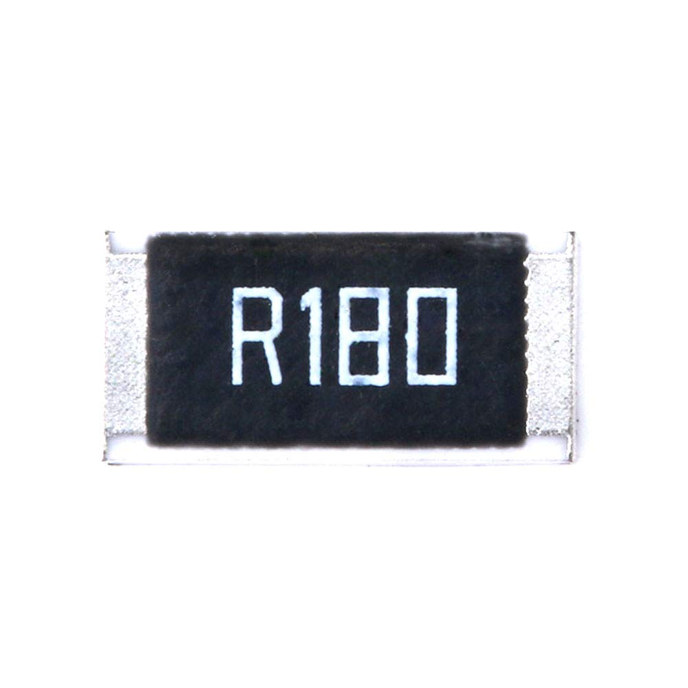DIYElectronic 50 pcs 2512 SMD Resistor 1W 0.18 ohm 0.18R R180 1/% 2512 Chip Resistor Passive Component