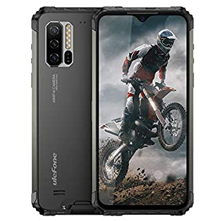 "Ulefone Armor 7 (2020) Rugged Cell Phones Unlocked, Android 10 Octa-Core 8GB+128GB ROM IP68 Waterproof Smartphone, 48MP Triple Rear Camera, 6.3"" FHD+ Screen 5500mAh Battery Dual 4G Rugged Phone"