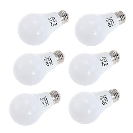 CroLED Pack de 6 bombilla LED E27 10W LED Light Bulbs (equivalente a 60W)