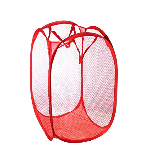1 Pc Foldable Pop Up Laundry Basket Hamper Bag Storage Organ