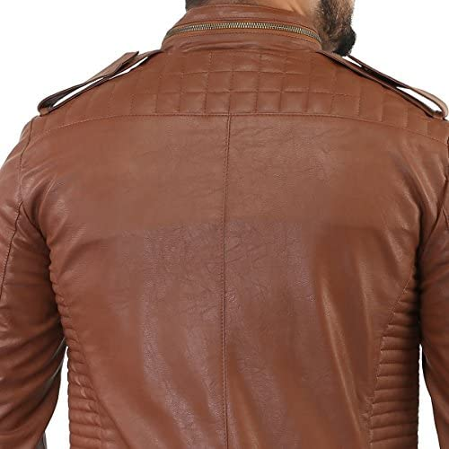 Paradigm Mens Black Genuine Lambskin Leather Stylish Jacket SL715