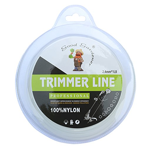 Good Gardener String Trimmer Line .095 Inch 270 Ft 1LB 100%Nylon Commercial Round Gatorline Replacement Spool for Weed - Line Trimmer Nylon