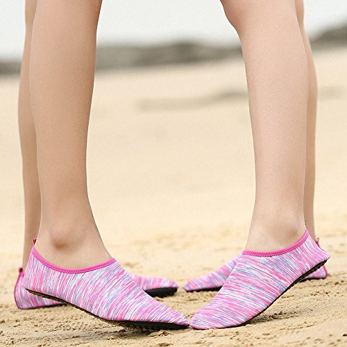 Shoes A Mens Womens Yoga on Pink Dive Swim Surf Shoes Aqua Sports Quick Slip ZHENZHONG Beach Dry Water aUtWHqqw