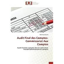 AUDIT FINAL DES COMPTES - COMMISSARIAT AUX COMPTES