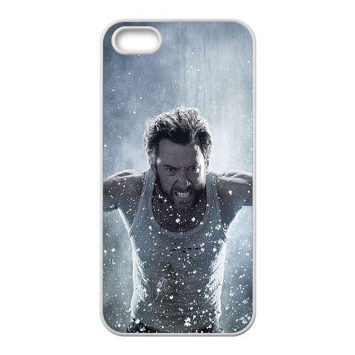 Xmen Wolverine coque iPhone 4 4S cellulaire cas coque de téléphone cas blanche couverture de téléphone portable EOKXLLNCD20876