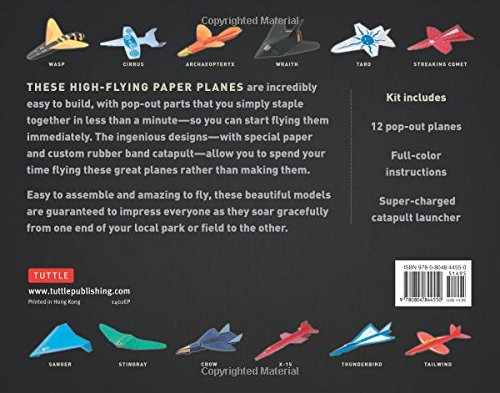 paper planes book and kit