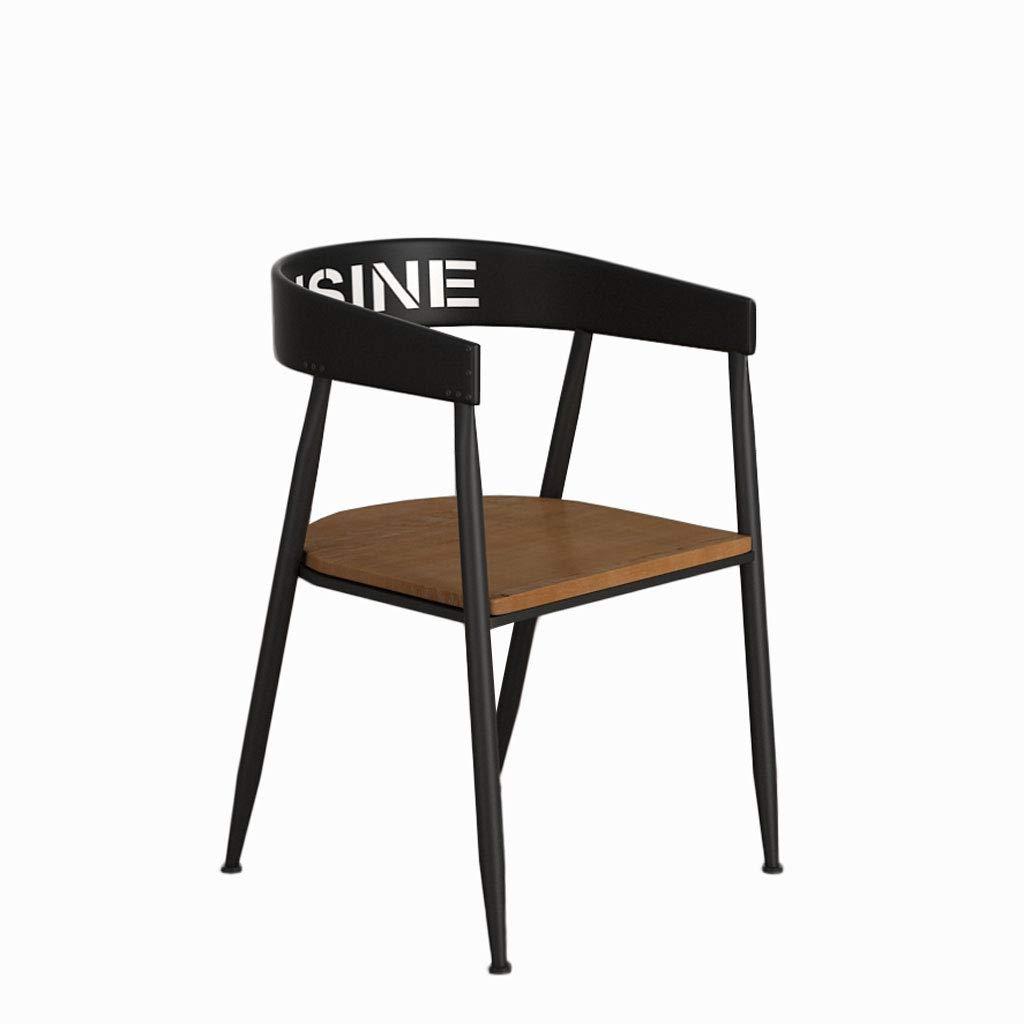 A 75CM Hongyan Chair Furniture Signature Design - Tabouret rembourré - Fauteuil de Salle à Manger Confortable à l'arrière A+ (Conception   B, Taille   75CM)