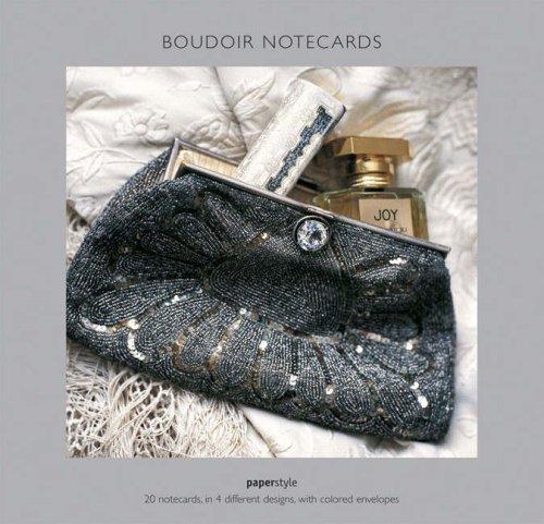 Boudoir Square Notecards (Boudoir Card)