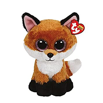 Ty - Femmes - Petite Peluche Beanie Boos Slick Le Renard - Brun by Claires