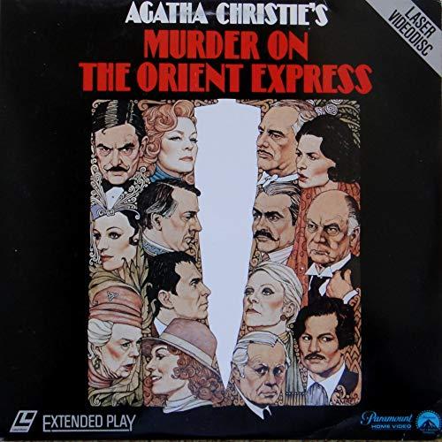 Murder On The Orient Express LASERDISC (NOT A DVD!!) (Full Screen Format) Format: Laser Disc (Best Version Of Murder On The Orient Express)