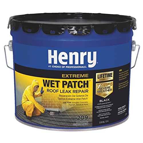 Henry HE209061 3.3 Gallon Black Extreme Wet Patch 209 Roof Leak ()