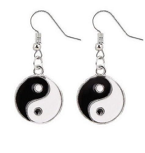 Pendientes de regalo con símbolo de Tao Yin Yang para mujer ...
