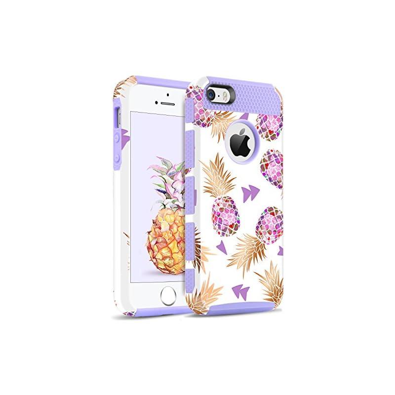BENTOBEN iPhone 5S Case, iPhone SE Case,