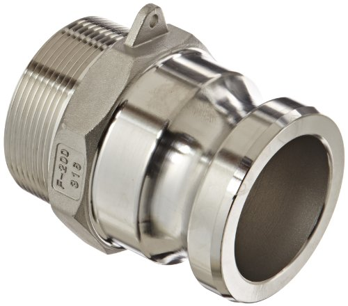 Dixon G200-F-SS Investment Cast Stainless Steel 316 Global Type F Cam and Groove Hose Fitting, 2