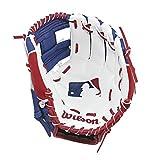Wilson A200 MLB Logo T-Ball Baseball Glove, Right